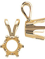A picture of product 6600: 6 Prong Pendants