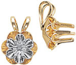 A picture of product 6800R: 6 Prong Buttercup in Reflector Pendants
